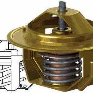 Термостат для а/м ГАЗ 3307, 66, 3402, ПАЗ 3205 с двигателем ЗМЗ