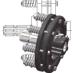 Универсальная фрикционная муфта для карданного вала от Прогресс-К; муфты кардана от производителя в Херсоне