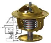 Термостати систем охолодження двигуна внутрішнього згорання. Характеристики, застосування, ціни. Інтернет-магазин виробника карданних валів Прогрес-К