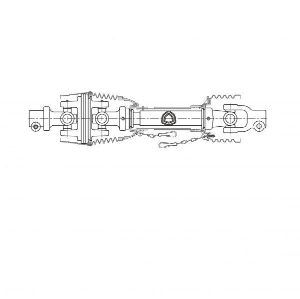 Карданный вал гаспардо GASPARDO F08011764, карданы от Прогресс-К: купить, цена