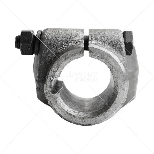 Вилка AP.I-160 разрезная с стяжным болтом шпонка Ø35 на крестовине 28,06*73 для карданов серии T2, Z2 - купить, цена