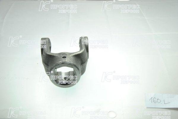 Вилка универсального шарнира AP.L-160 квадратная на крестовину 28,06*73 для карданных валов серии T2, Z2 от Прогресс-К вид 2