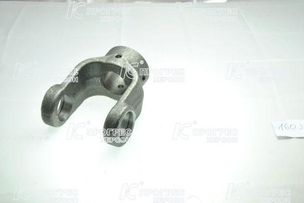 Вилка универсального шарнира шпонка Ø30 под крестовину 28,06*73 | Концевые вилки для карданных валов серии T2, Z2 вид 3