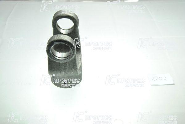 Вилка универсального шарнира шпонка Ø30 под крестовину 28,06*73 | Концевые вилки для карданных валов серии T2, Z2 вид 2