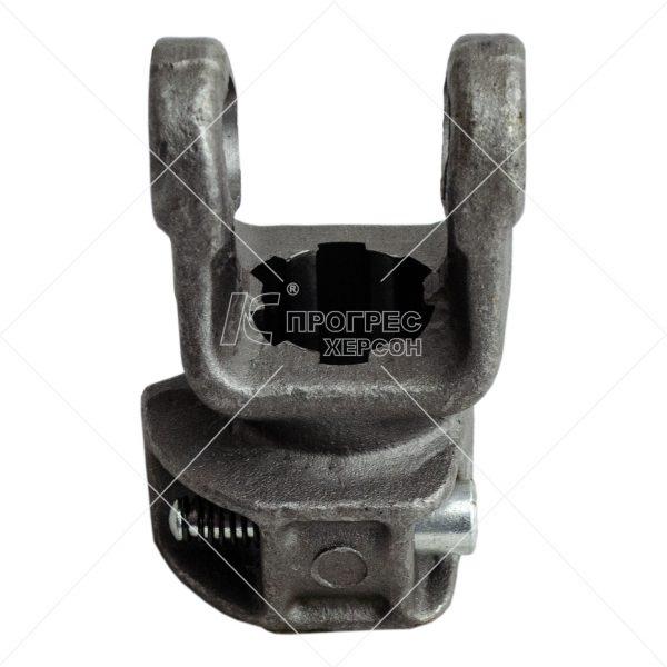 Вилки универсального шарнира шлицевая 6х29х35 под крестовину (22х54,8): Купить концевую вилку для карданного вала серии L1 от Прогресс-К Херсон