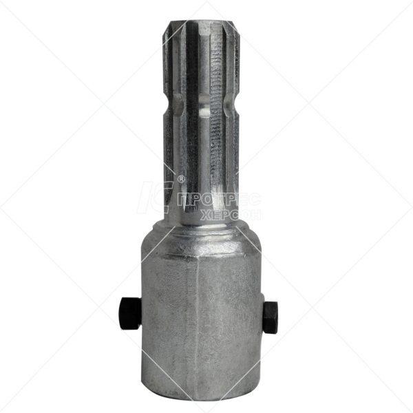 Купити перехідник (втулка 1 1/4 20, вал 8 шліц.) Преміум цинк