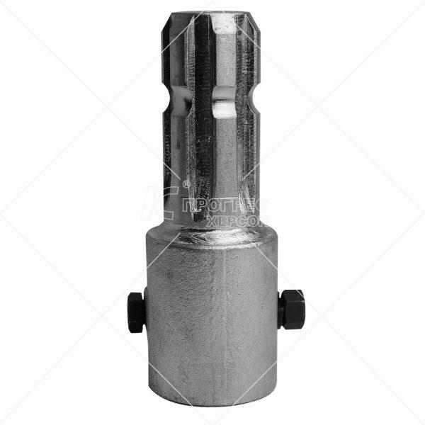 Купити перехідник (втулка 1 1/4 20 вал 1 1/4 6 шліц.) Преміум цинк