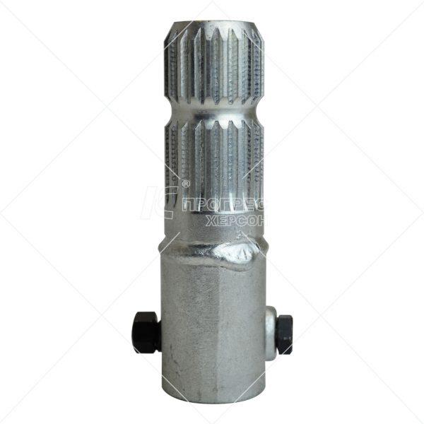 Купити перехідник (втулка 1 1/4 6, вал 1 1/4 20 шліц.) Преміум цинк