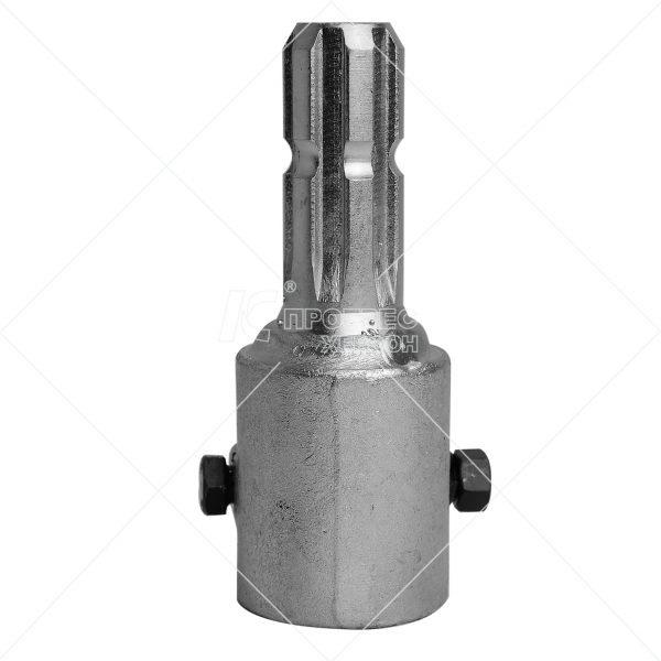 Купити перехідник (втулка 1 1/4 6, вал 6 шліц.) Преміум цинк