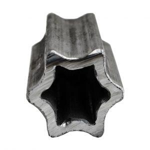 Труба профільна шестигранна S60 (47,5х5мм): купити профільну трубу для карданного валу типу S в Україні, ціна