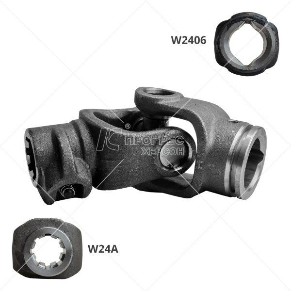 Шарнір кардана (Гука) на 8 шліців W2406A - шарніри для карданних валів сільгосптехніки: ціна, купити в Україні