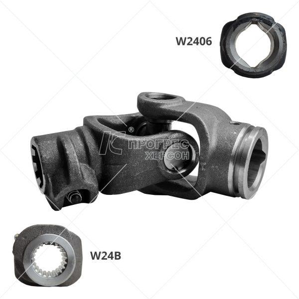 Шарнир кардана (Гука) на 21 шлиц W2406В - шарниры для карданных валов сельхозтехники: цена, купить в Украине
