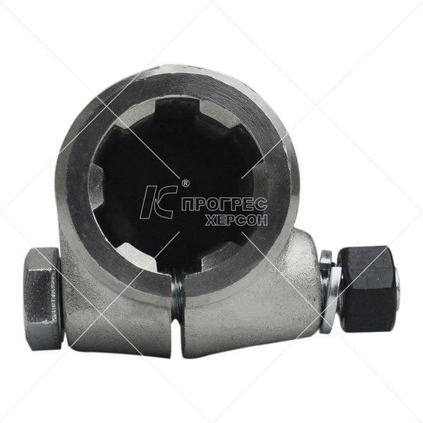 Перехідник кардана (ВВП) втулка 1 1/4 6, вал 8 шліців оцинкований від Прогрес-К: ціна