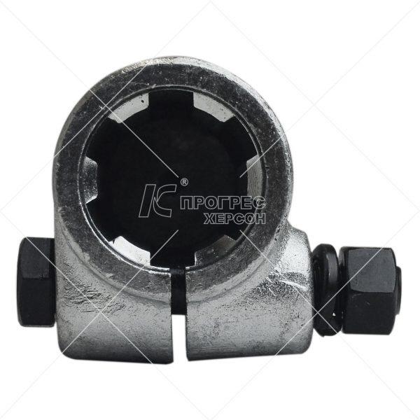 Перехідник кардана (ВВП) втулка 1 1/4 6, вал 20 шліцов оцинкований від Прогрес-К: ціна