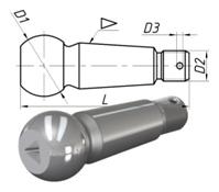 Палец рулевой тяги «ЗИЛ» Бычок с резьбой: купить шаровой наконечник на ЗИЛ